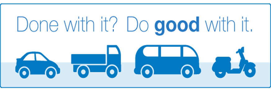 Donate A Car Or Other Vehicle To Goodwill