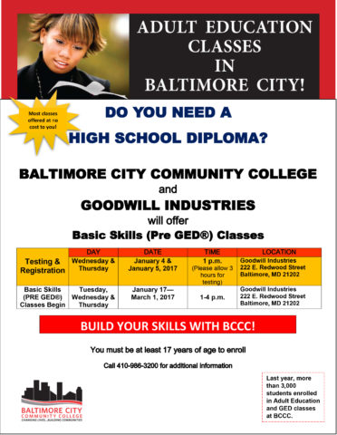 GED Testing & Registration @ GIC HQ | Baltimore | Maryland | United States