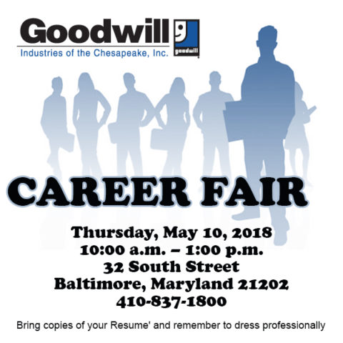 Goodwill Career Fair